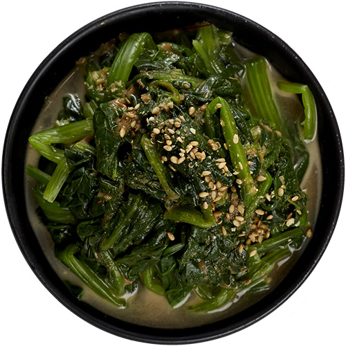sesame spinach